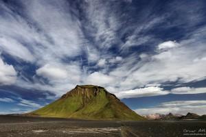 Hattfell in Fjallabak south of Landmannalaugar.