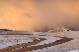 Early Morning Light at Svartikrókur, Landmannalaugar, Iceland