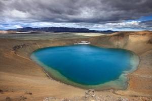 Víti crater near Krafla.