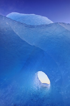 The shape of the iceberg takes many forms.