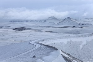 Landmannalaugar in Winter.