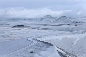 Landmannalaugar in Winter.