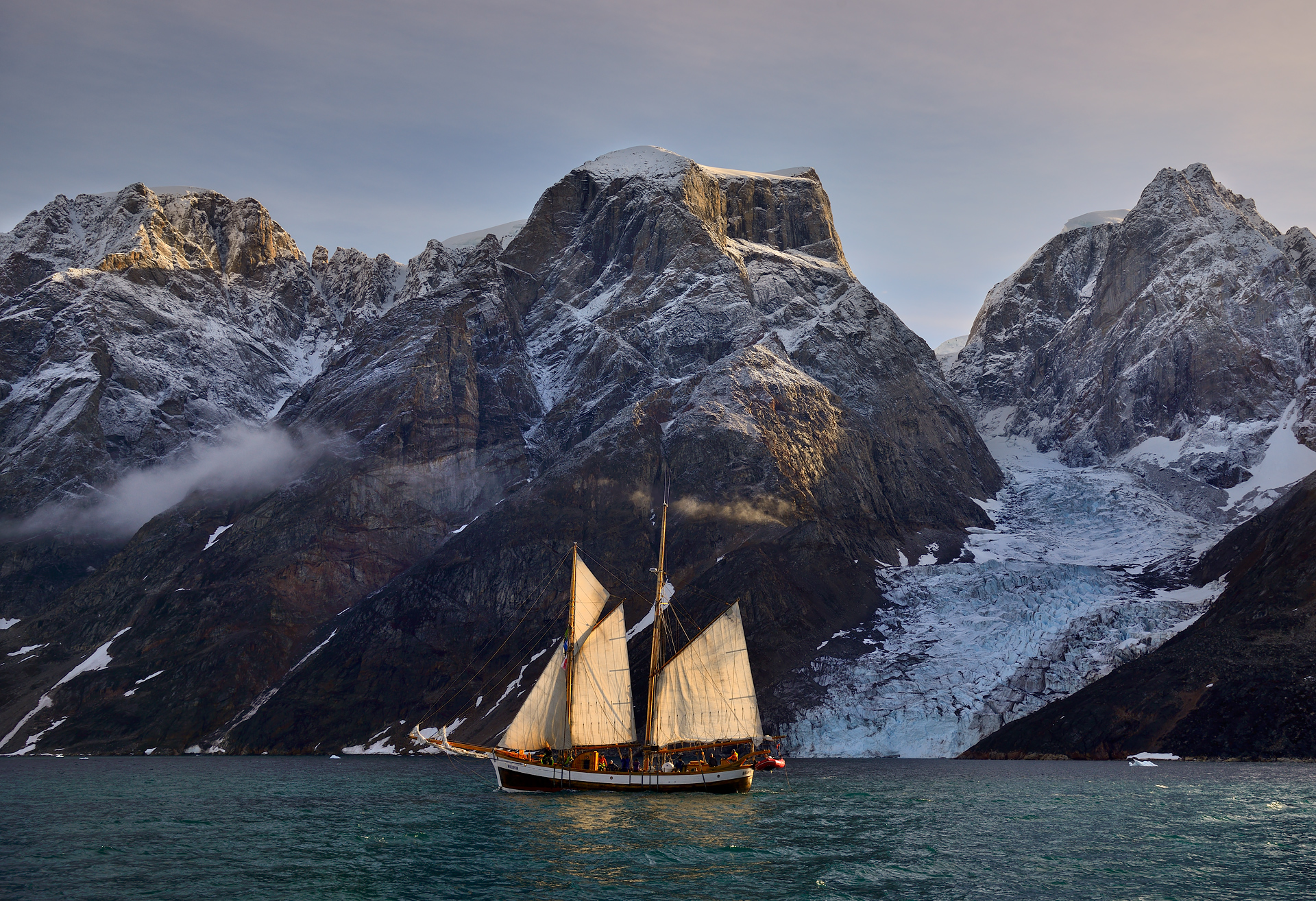 Fjords of Silence – East Greenland Scoresbysund Sailing