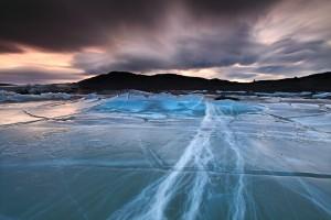 Fractured Ice, Svínafellsjökull Iceland