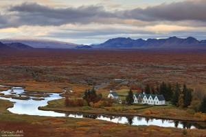 Þingvellir National Park in Fall Colors