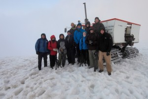 Tour 1 Group at Snæfellsjökull