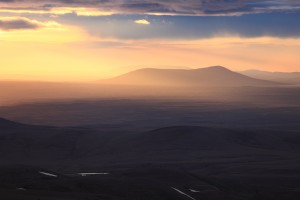 Kjölur Sunset